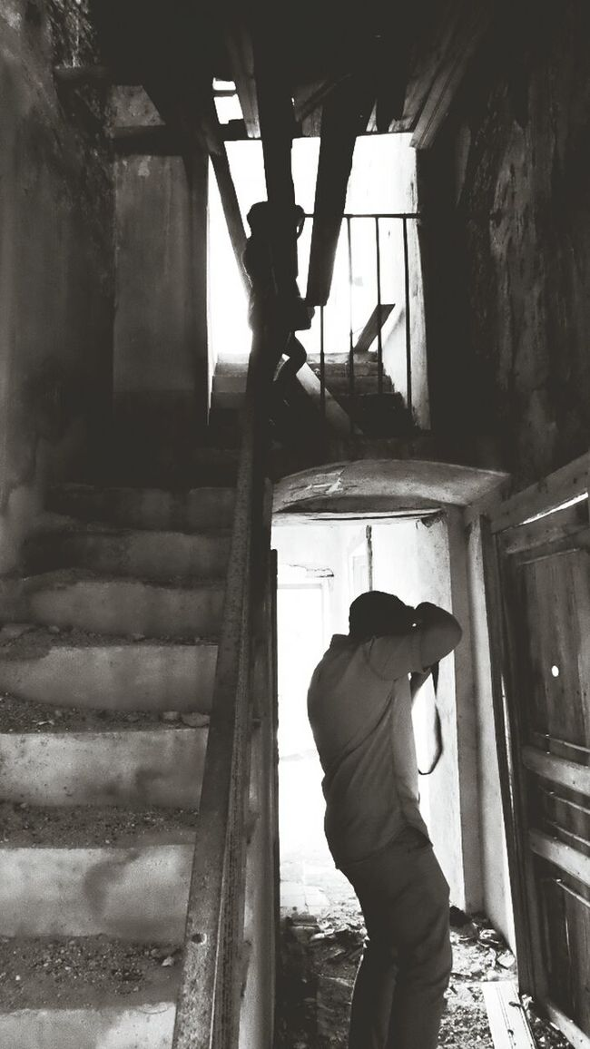 Photographing Photographers Black & White