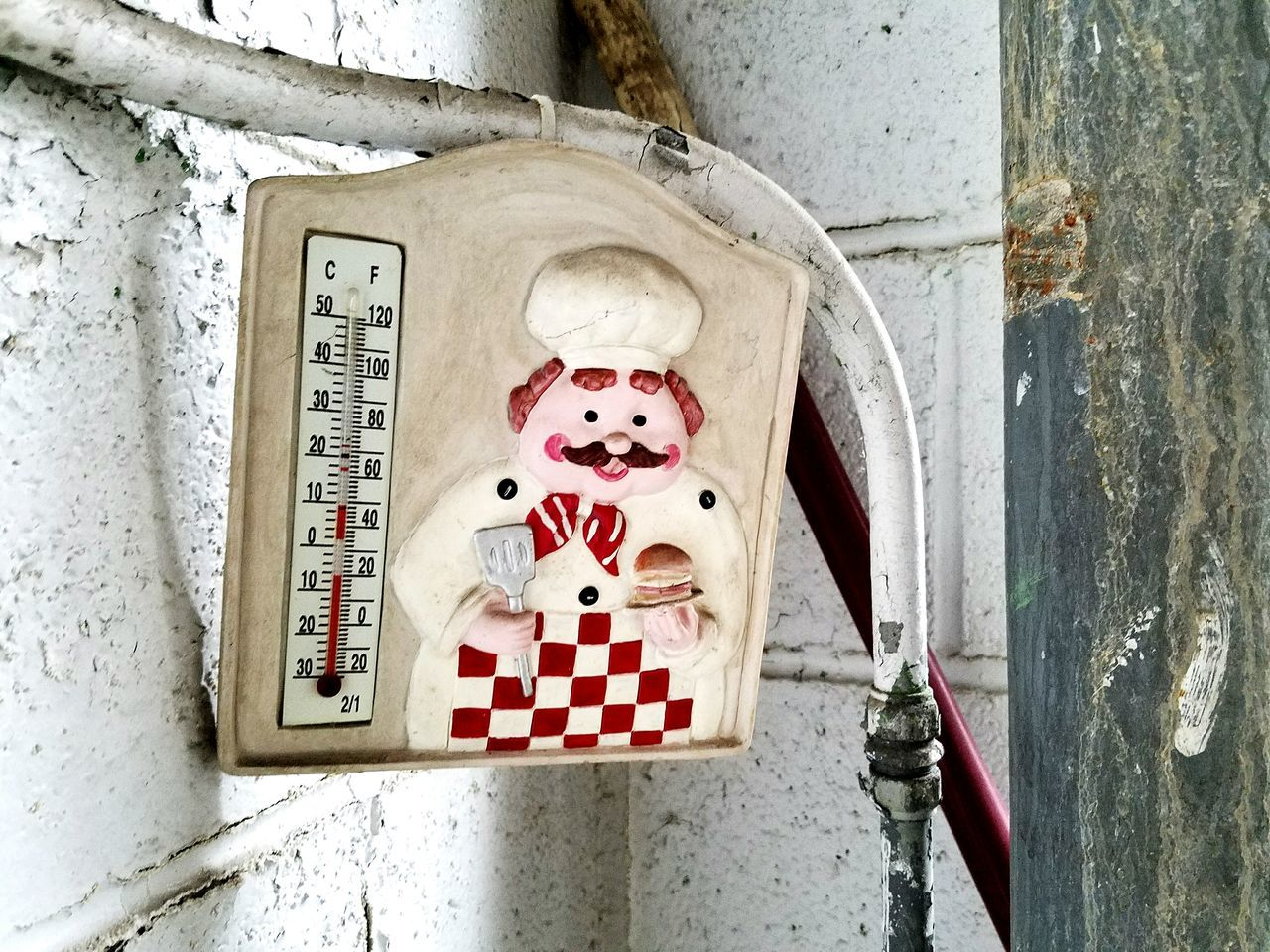 Thermometer found in abandoned building No People Abandoned Buildings Thermometer Abandoned Abandoned Places