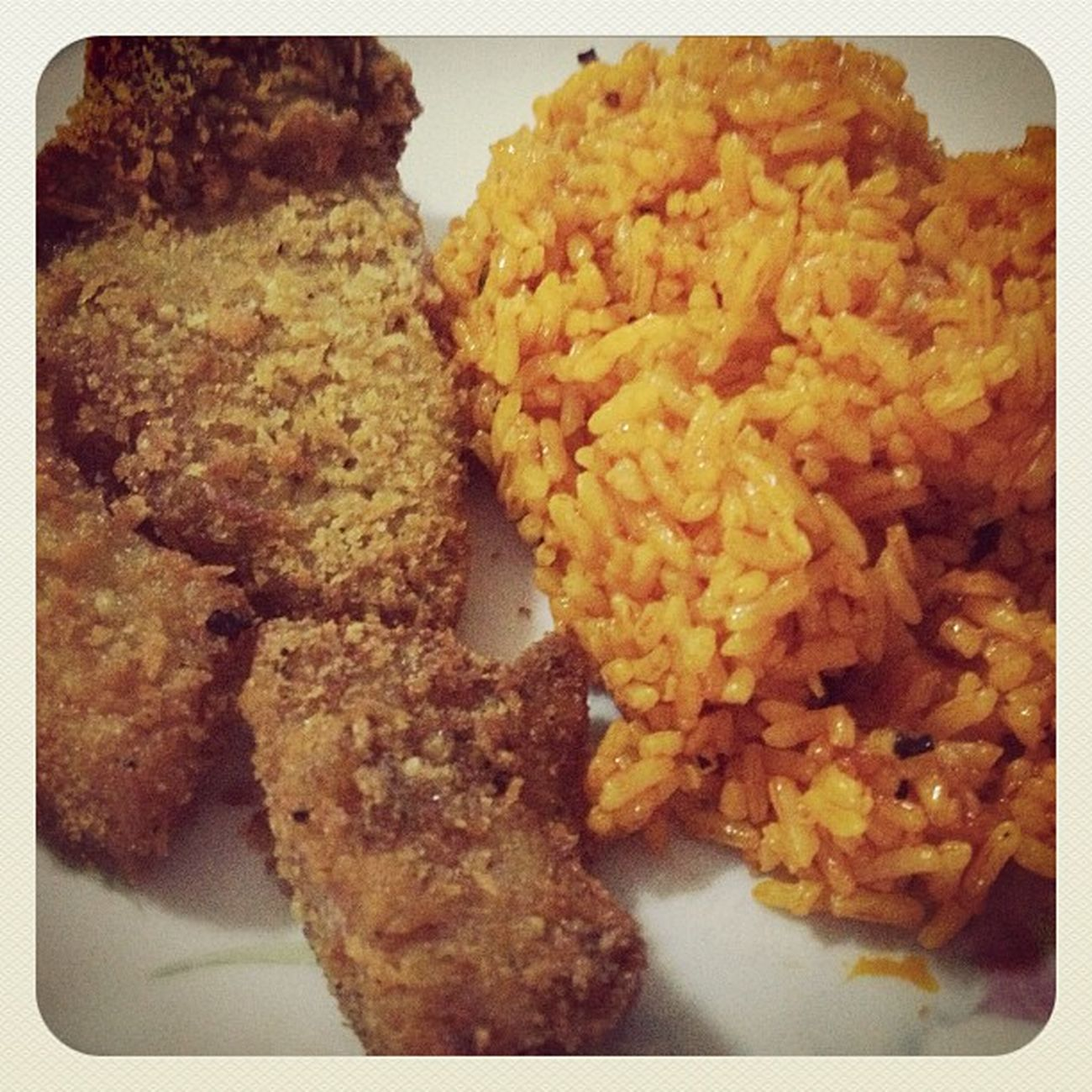 Java Rice & Pork Chop. Supper Javarice Homecooking Dinner foodpic