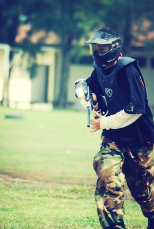 throwback 2007.. Paintball