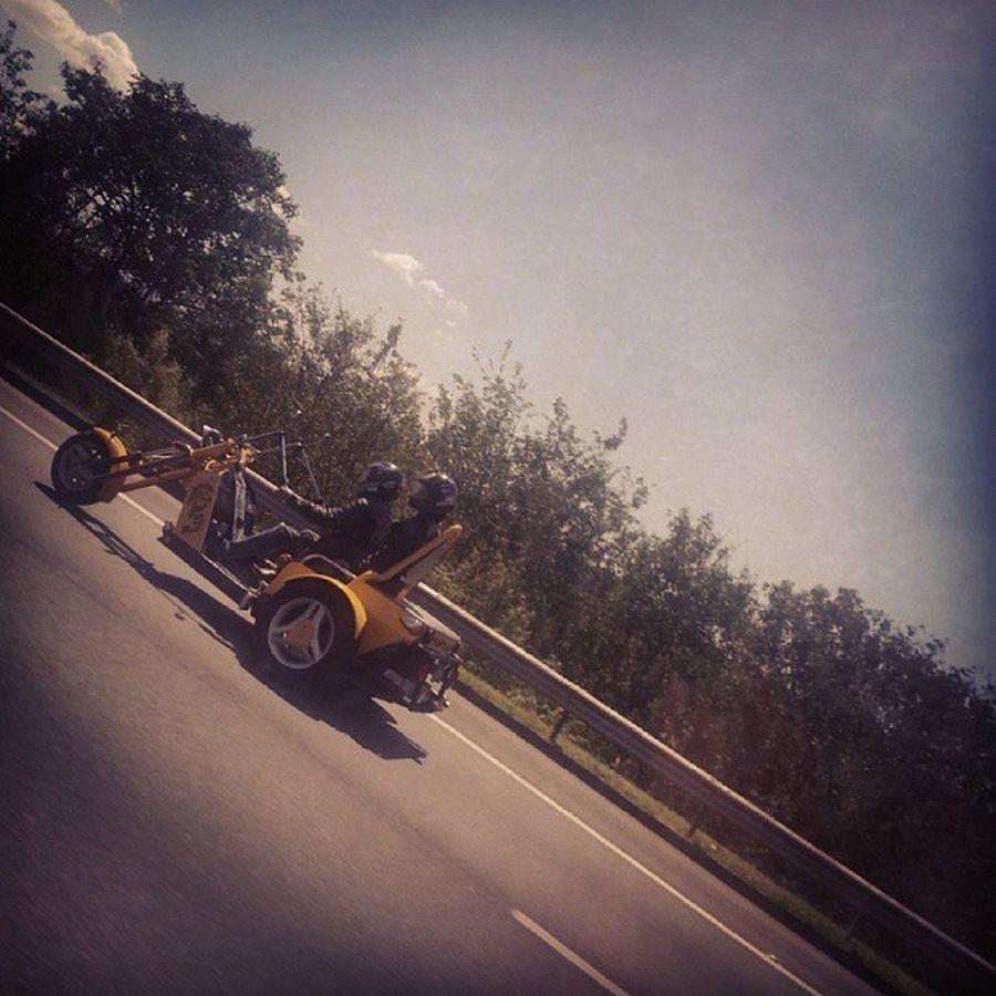 Estrada Motocicleta
