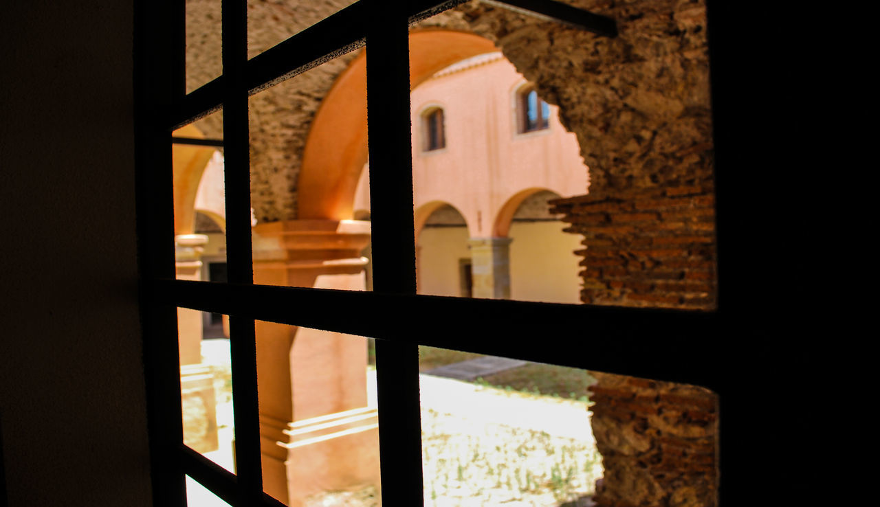 Architecture Cloister Convento Creative Darkness Darkness And Light Day Forza D'agrò Indoors  Italy Medieval Monument Nikon Ninofogliani58 No People Prospective Sicily Window