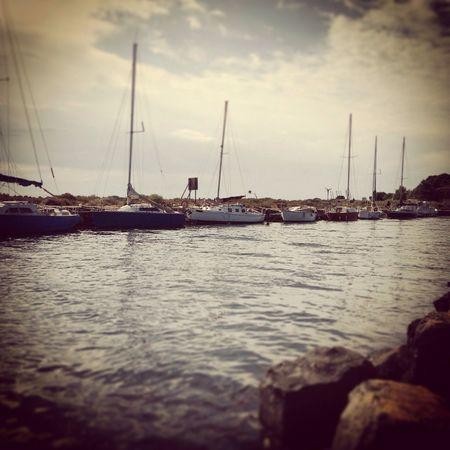 'Terre, Mer.' Mer Boat Sky Picture