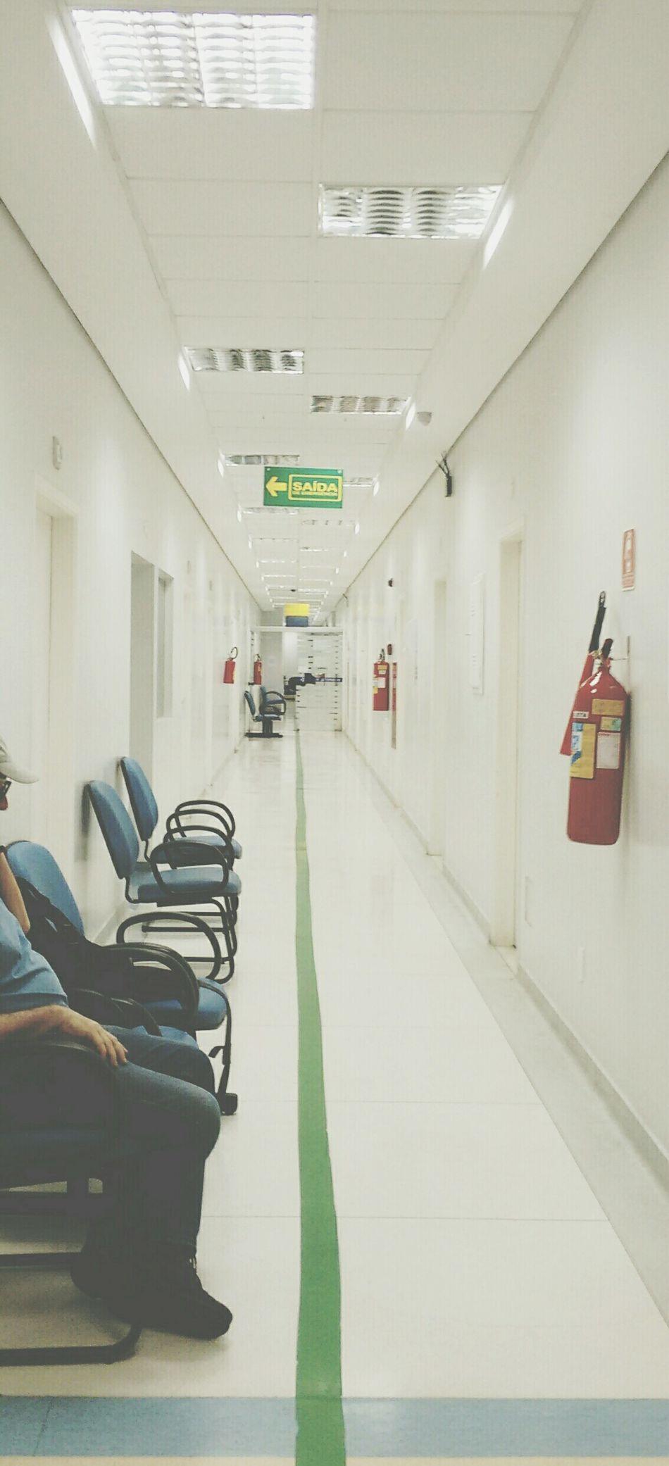 Pastel Power Emergencyroom Empty Empty Corridor