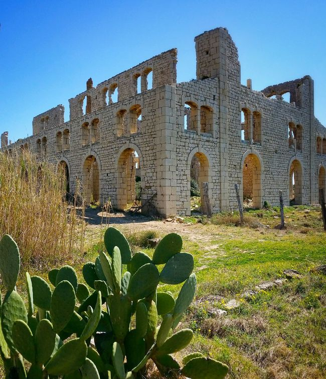 Sampieri Ragusa Sicily Italy Travel Photography Travel Voyage Traveling Mobile Photography Fine Art Architecture Early XX Century's Industrial Facilities Furnaces Ruins Mobile Editing