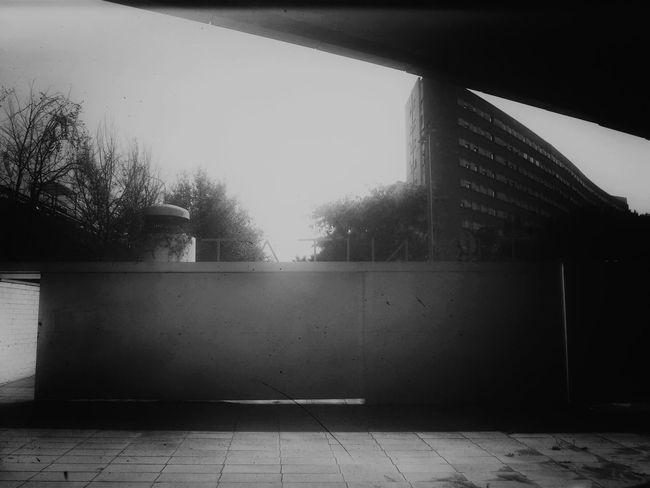 Black And White Monochrome Urban Geometry Street Photography