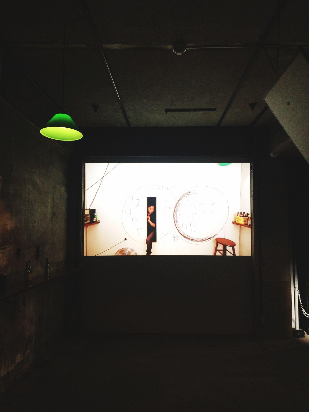 笹本晃さんのインスタレーション。目が離せないほど面白くて、ポップだった。 PARASOPHIA 笹本晃 堀川団地