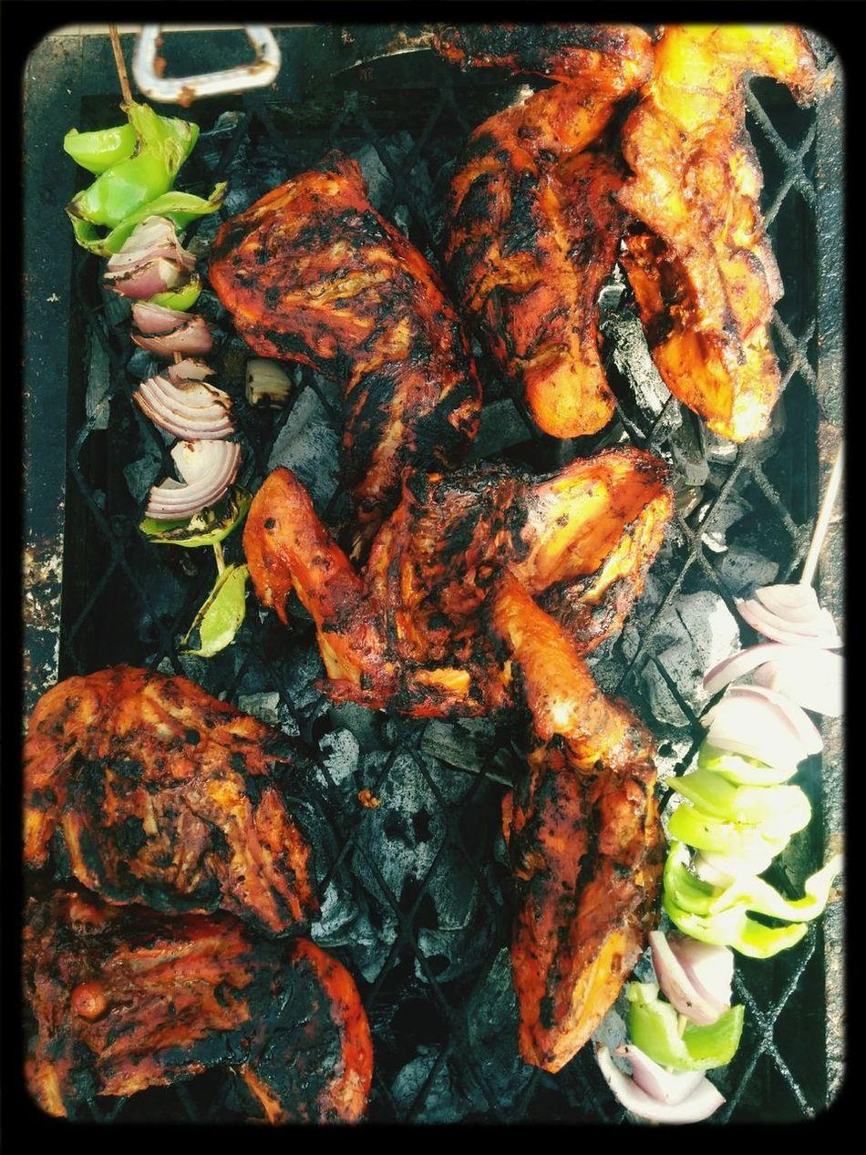 Chickenbarbeque Weekend Havingagoodtime