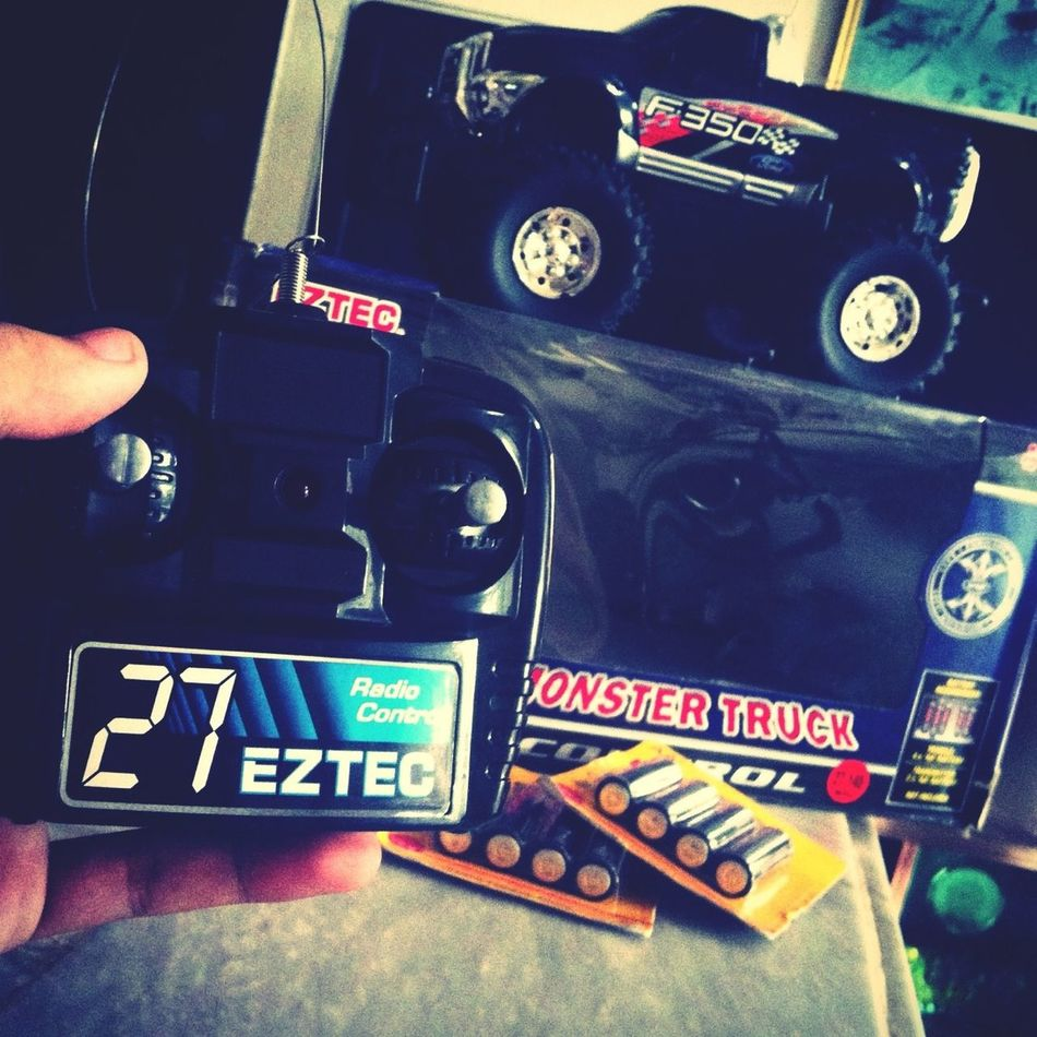 Got Home To This. My New EZTEC 1:18 Scale Monster Truck Radio Ctrl. Www.ez-tec.com