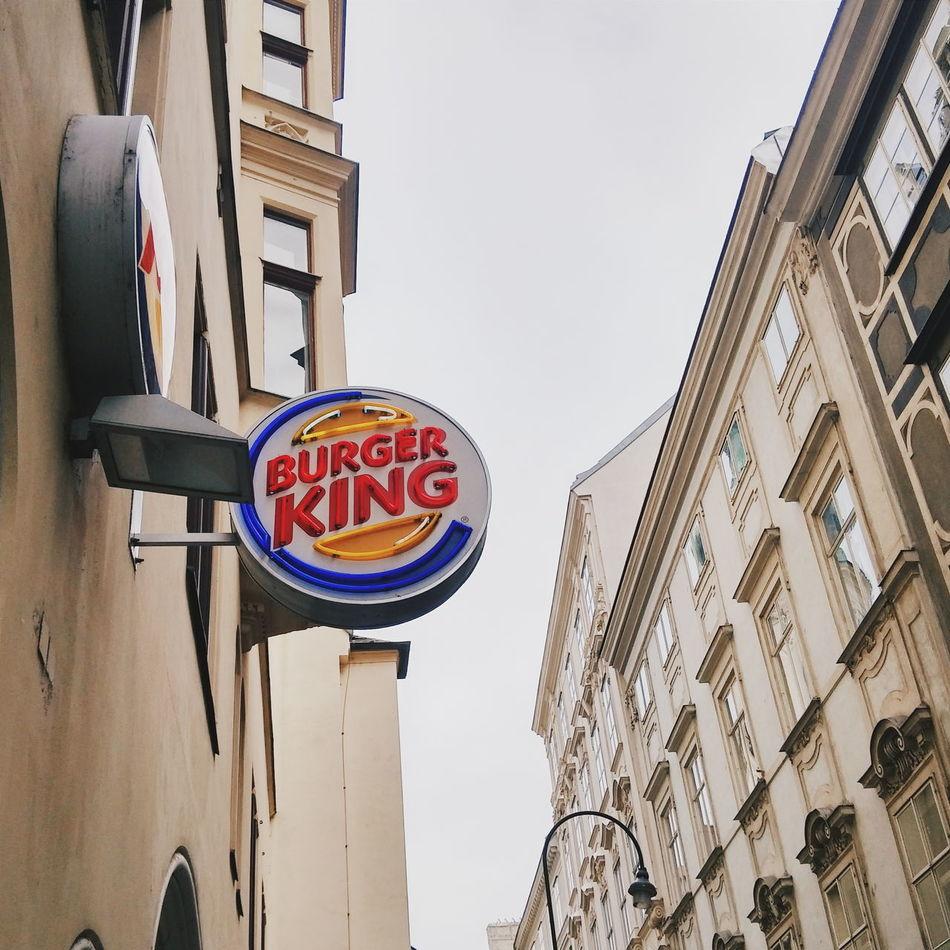 Burgerking Burguers Hamburger Potatoes Cocacola Viena Vienna Wien VSCO