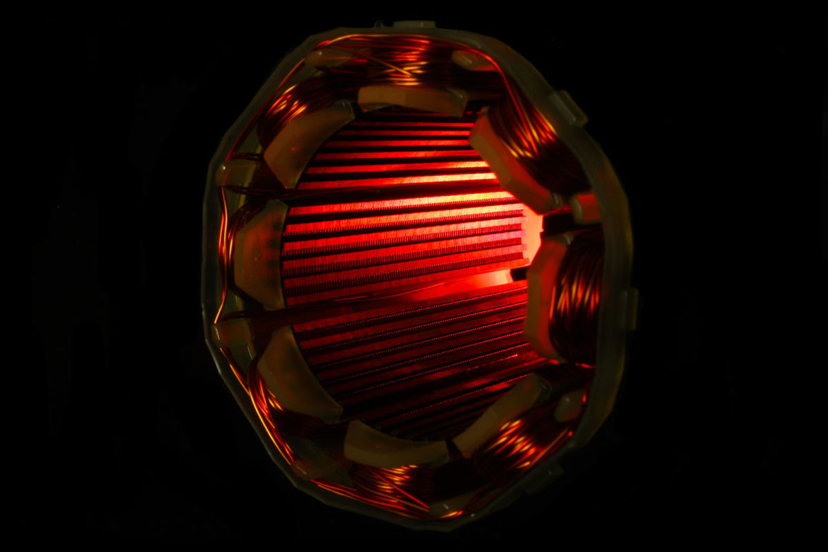 Time machine Motor Red Ampere Black Background Current Glowing Power Energy Mystic Indoors  Lighting Equipment Night No People Red Studio Shot Technical Detail Time Machine Winding Wire Abstract