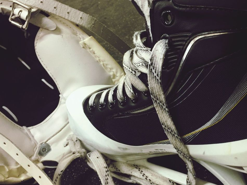 Icehockey Eishockey Schlittschuh Urban Close-up Sport Sports Photography Training Extreme Sports Lifestyles