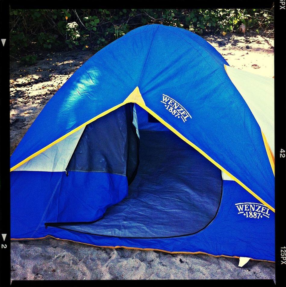 Camping-beach ✌️?