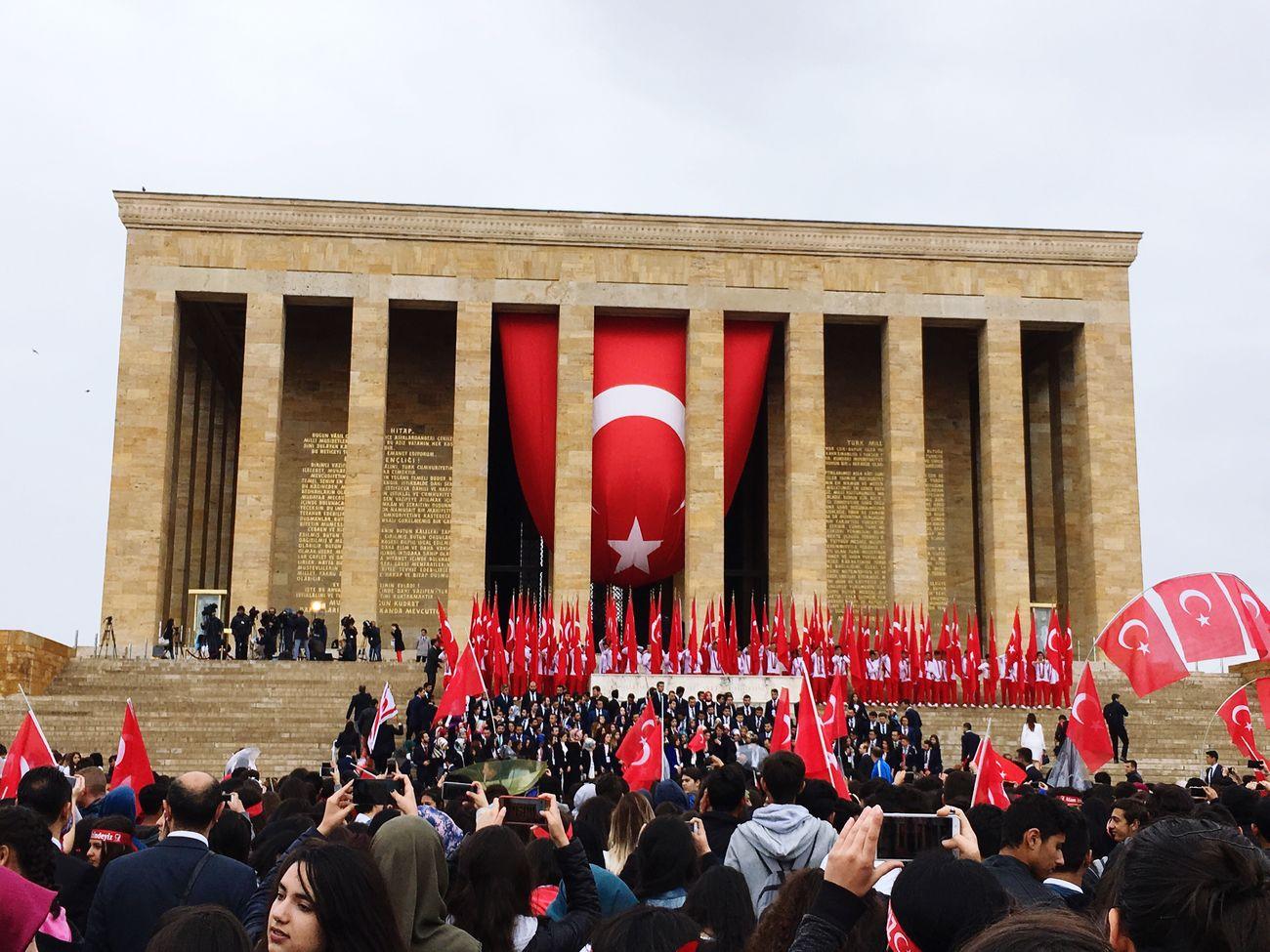 ATATÜRK ❤ Anıtkabir Turkish Flags
