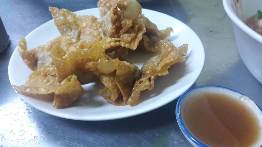 fried dumplings Food Fried Dumplings Fried Dumpling  Thailand Food And Drink Plate No People