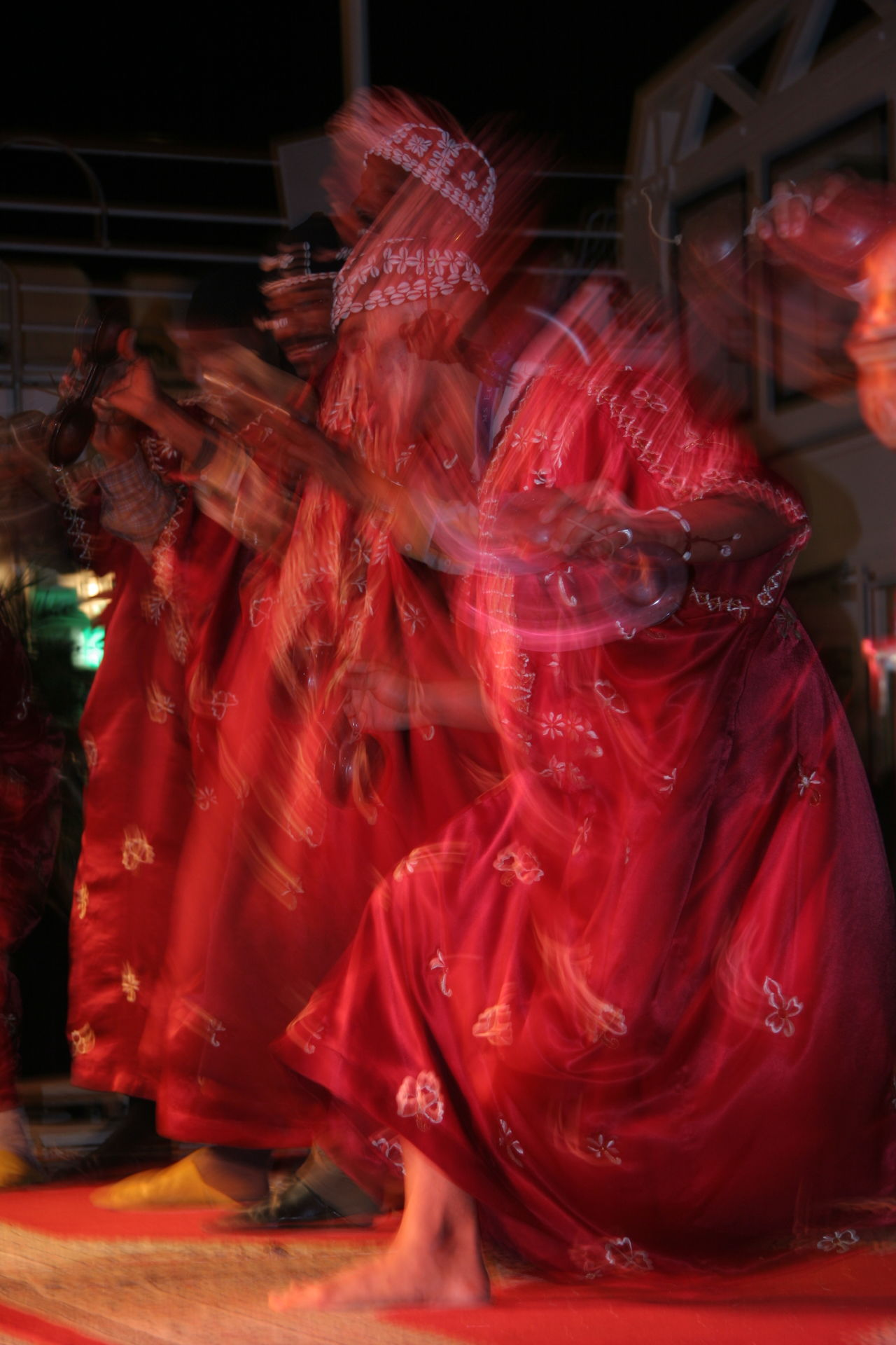 Artistic Berber  Dancing Êxtase Extasy Group Of Dancers Group Of People Moving Performance Red Red Color