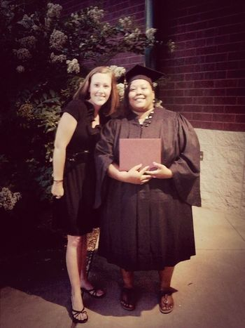 My sisters graduation. ! Fam(ily)