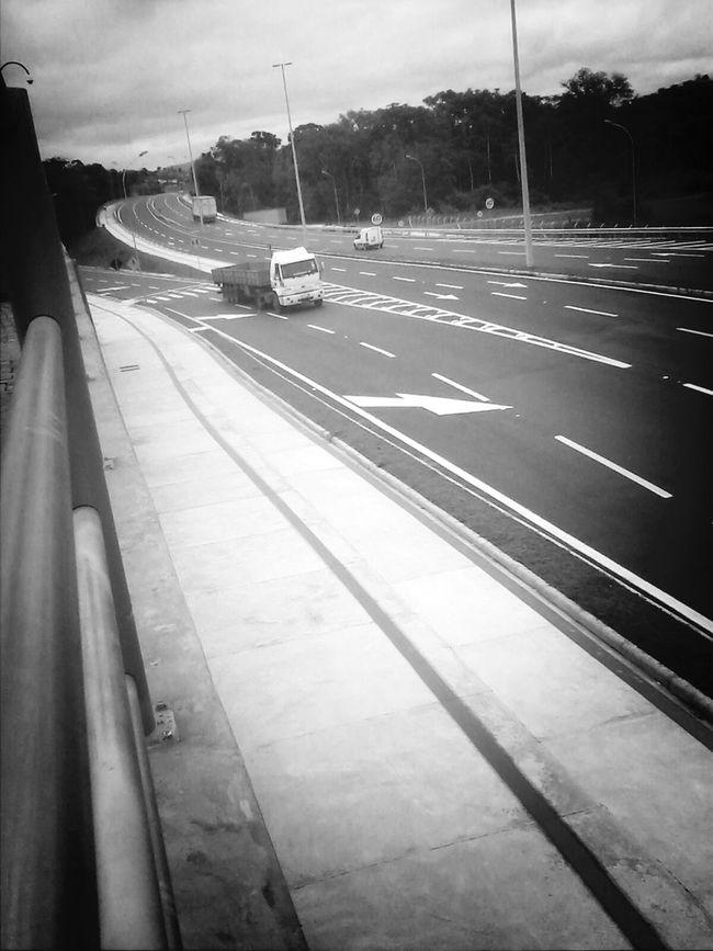 Road Monochome Blumenau City