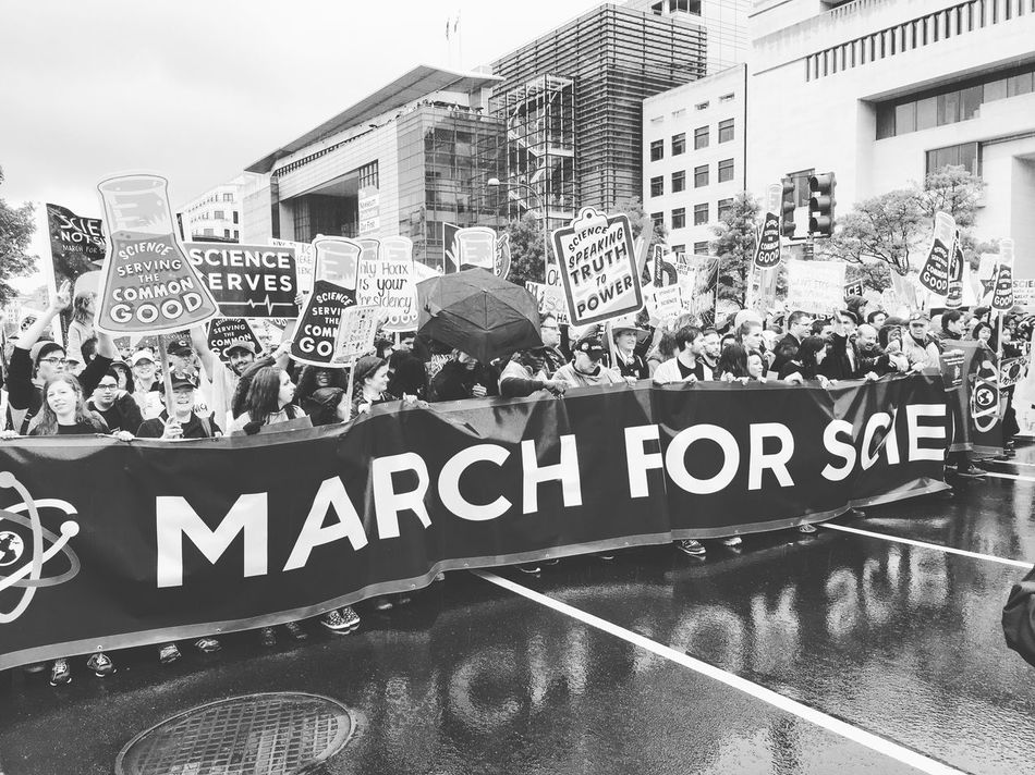 March for science Washington, D. C. Streetphotography EyeEm Best Shots - Black + White From My Point Of View Blackandwhite Protest Streetphoto_bw