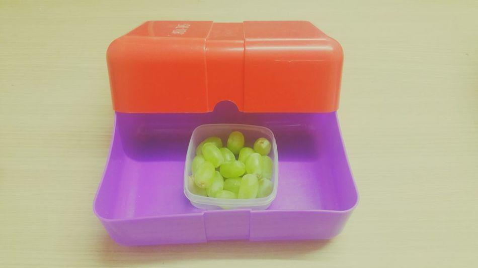 Pastel Power Lunch Box Grapes Redgreenpurple EyeEmBestPics Eyeemfood