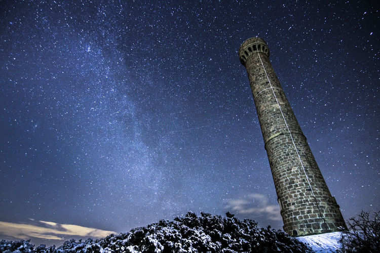 Milky Way over Hopetoun Tower, Long Exposure Glowing Long Exposure Mystery Power In Nature Stars Milkyway