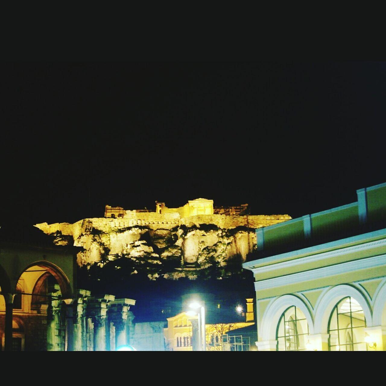 Wheningreece Nightlife City Lights Athens, Greece Monastiraki Parthenon Acropolis Greece Legends