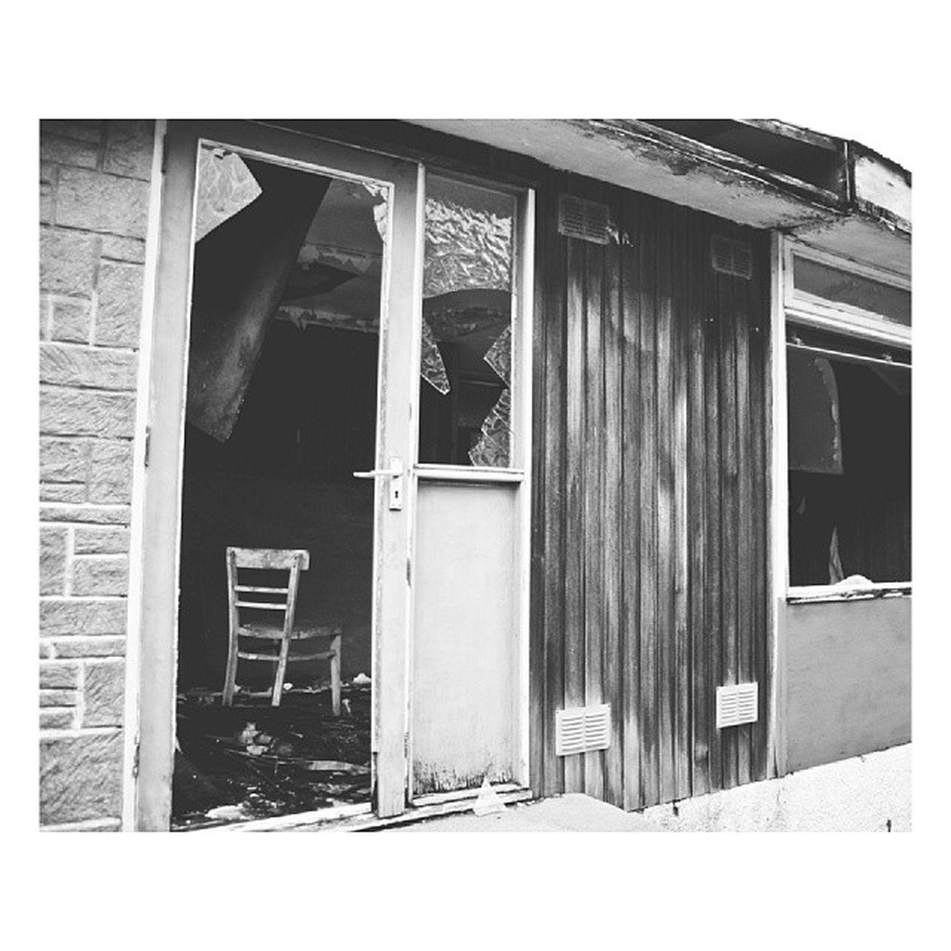 Lonely chair Mycamerastories Chair Abandoned AbandonedScotland broken wooden doorway sad lonely