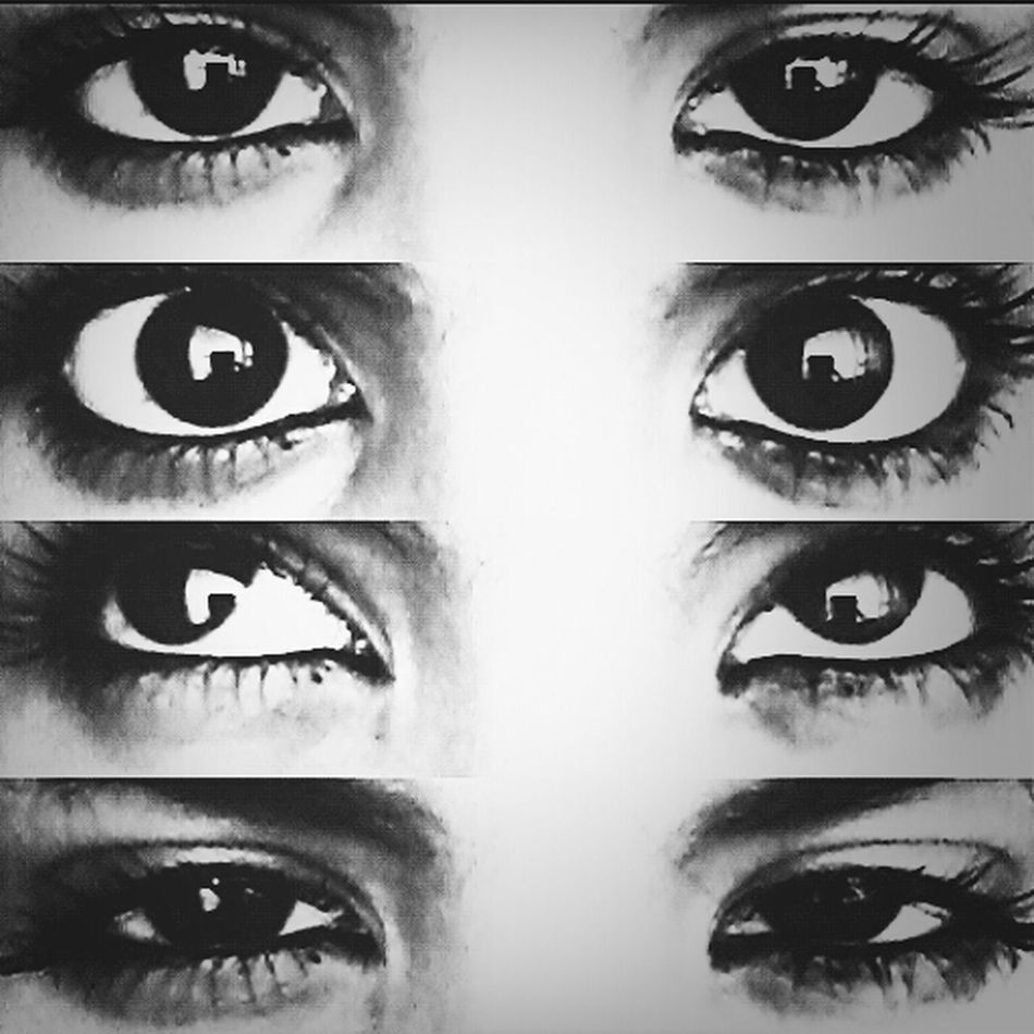 Eyes Black And White Big Eyes Girl