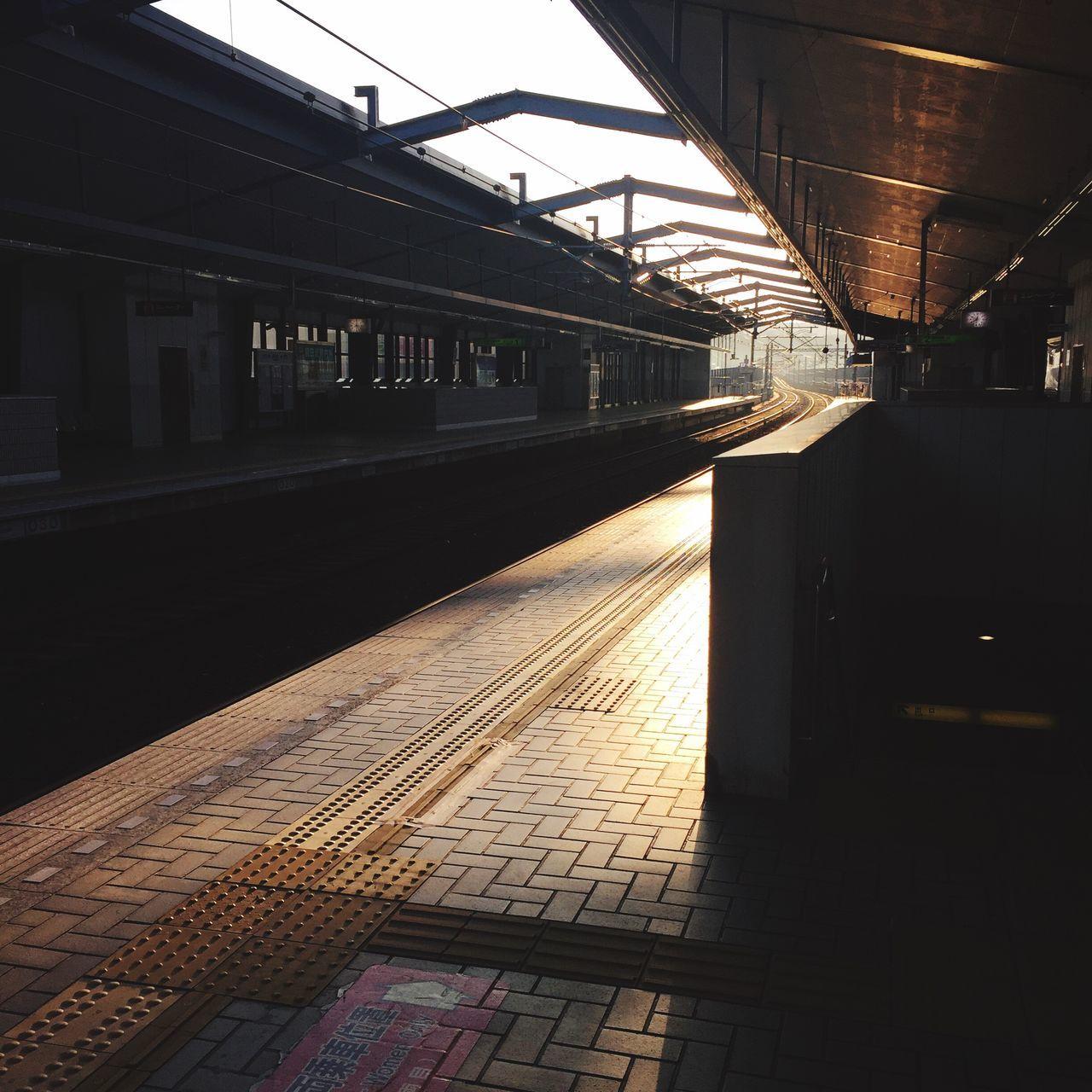 Happynewyear 1月1日 は朝からバイト Train Station いい1年になりますように