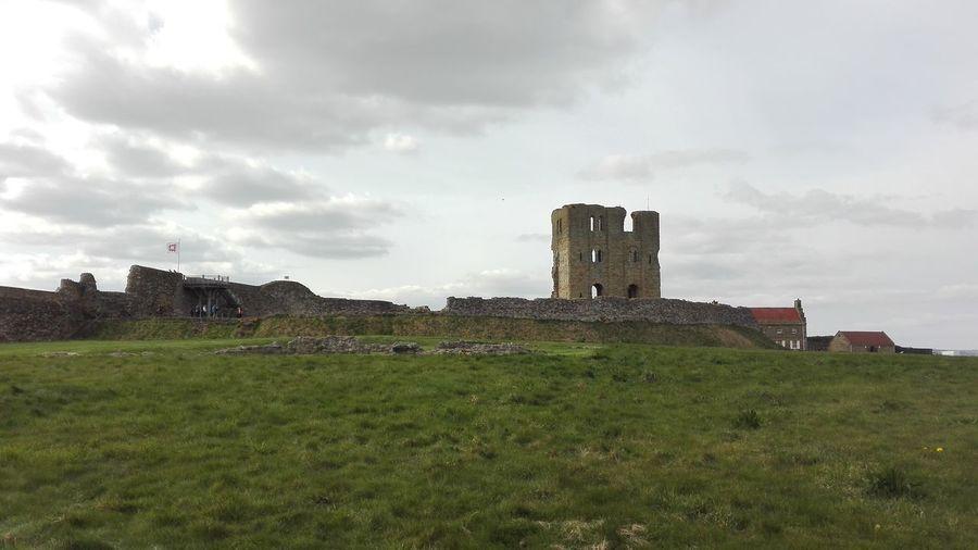 Scarborough Old Ruin History Castle Scarborough Castle War Viking Roman French English