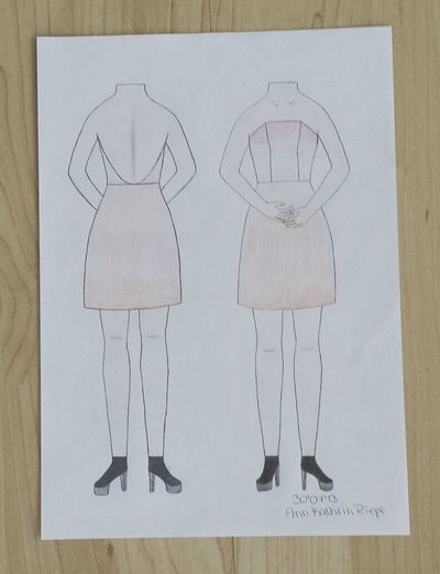 Design Drawing Fashion Outfit