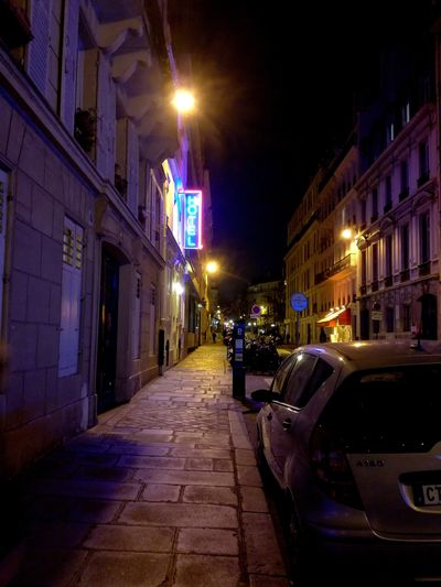 Illuminated Architecture Built Structure Building Exterior City Night No People Outdoors Lifestyle Paris Hotel View Hotel Lights Streetphotography