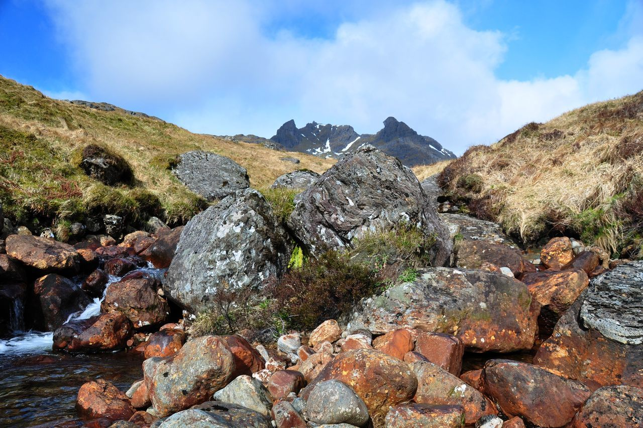 The Cobbler, Trossachs Landscape Mountain Mountain Range Outdoors Rock Rocks Stream The Cobbler Tranquility Trossachs
