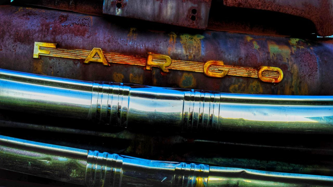 Truckart Text Communication No People Metal Multi Colored Gold Colored Close-up Outdoors Day Mountain, Ontario Fargo Truck Farm Vintage Beautiful Wreck Classiccar Classic Elegance Rustic Style Rusty Metal Rustygoodness Fresh On Eyeem