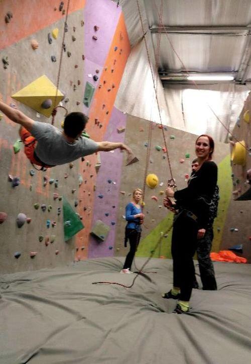 Healthy Lifestyle Climbing Bouldering Format Kharkiv Ukraina