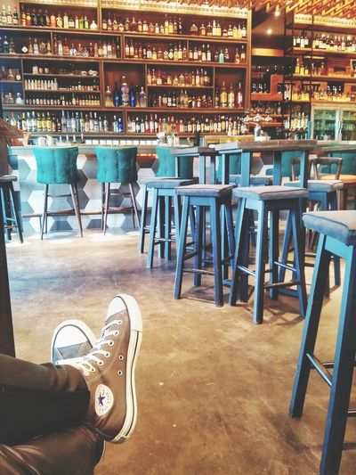 Business Finance And Industry Indoors  People Architecture Day Library Decoration Bar Bar - Drink Establishment Indoors  Allstar Shoes All Star★☆ Colors Wood - Material Bar Decoration Greece Larisa GREECE ♥♥ EyeEmNewHere