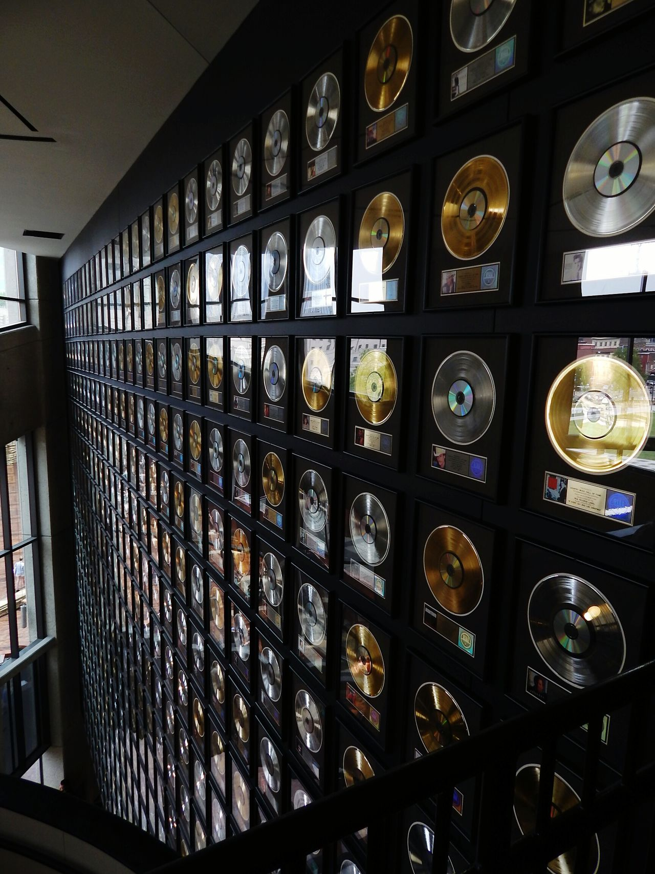 Country Music Hall of Fame Photography Country Nashville Tennessee Records Indoors  No People Day