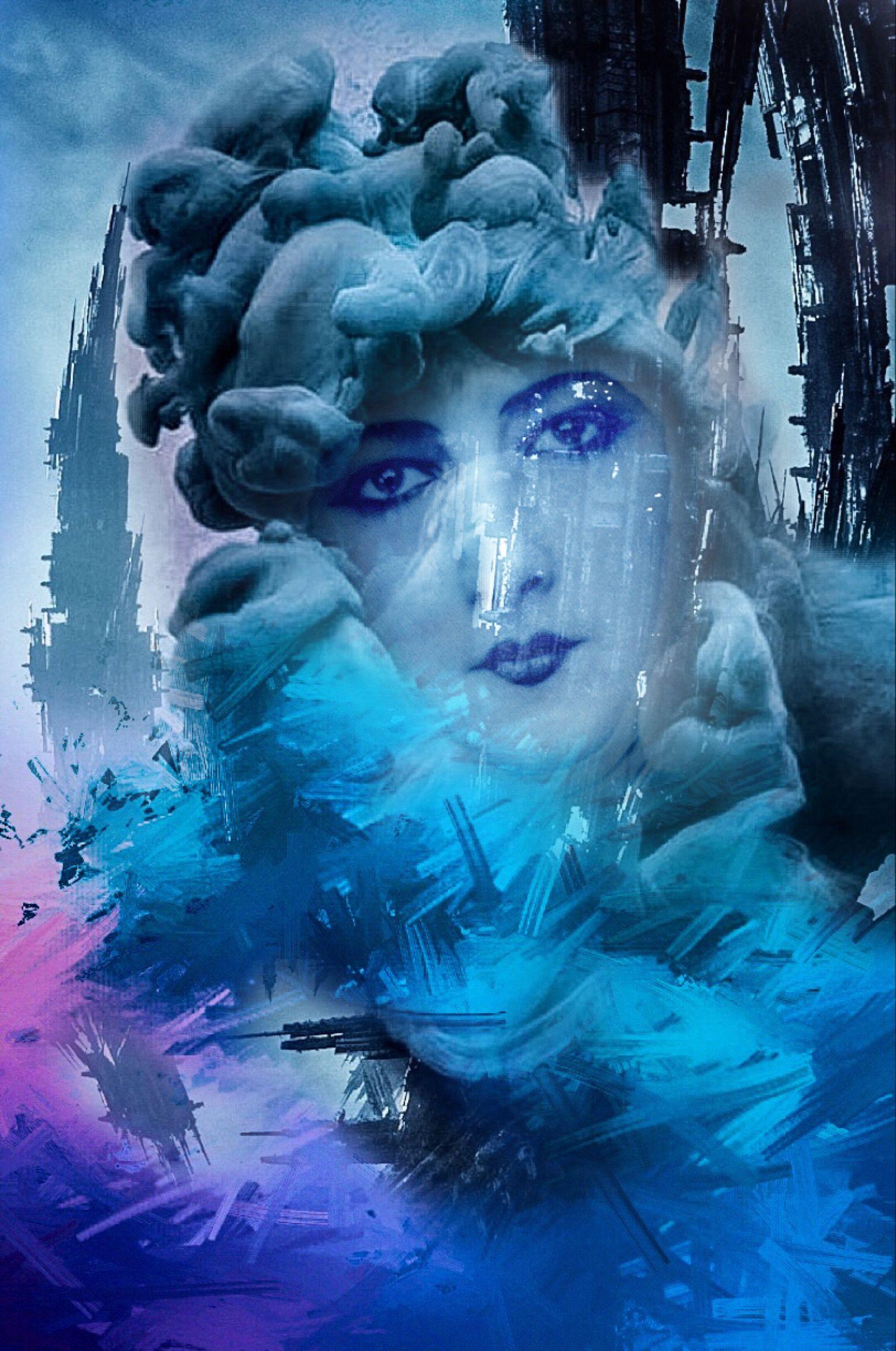 Cloud 9 IM GONE 2THE MOON  Une Femme Perdu Dans L'espace... Human Condition Gonzoism Facial Experiments Photographic Approximation Polychromatic Fumaroles