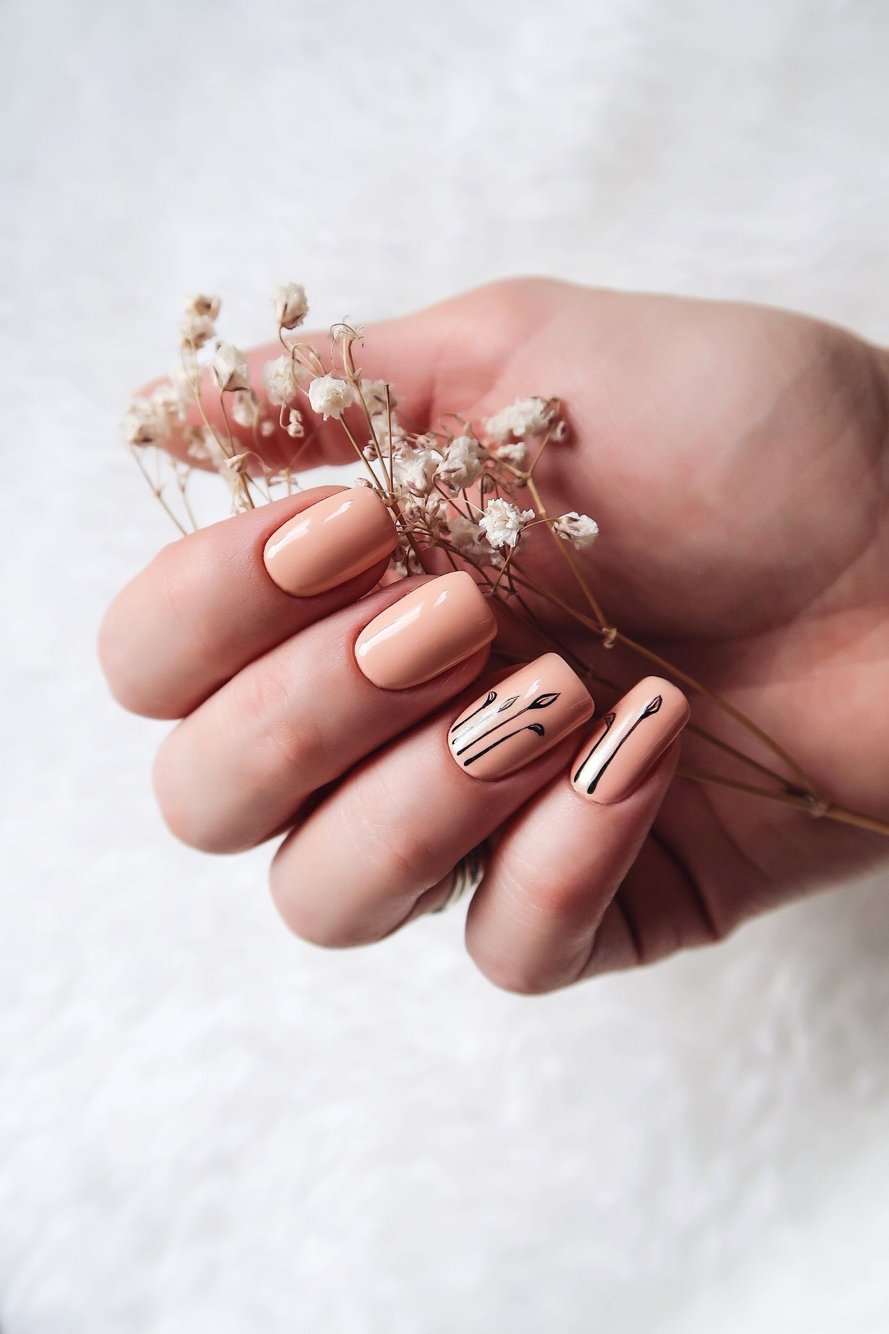 Beautiful stock photos of fashion, human hand, human body part, nail art, one person