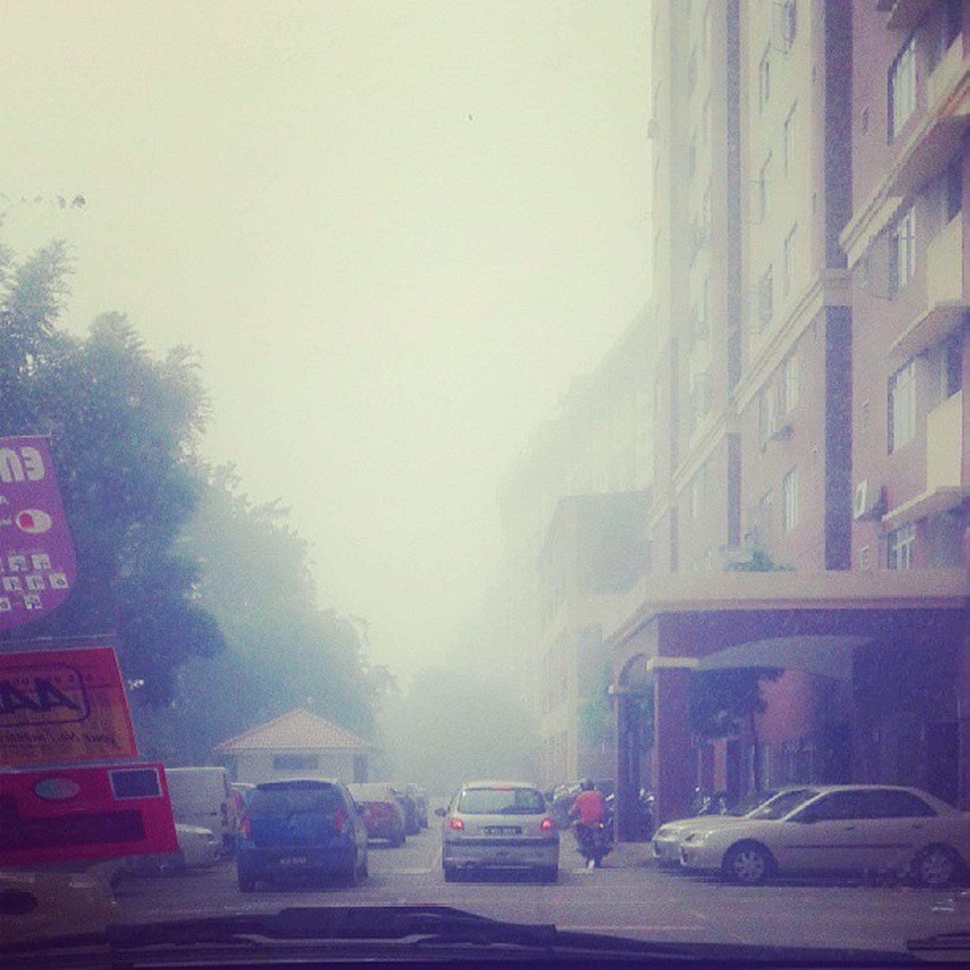 Haze owhh haze..Jerebu Haze Terrible Mentaricourt malaysiapetalingjaya