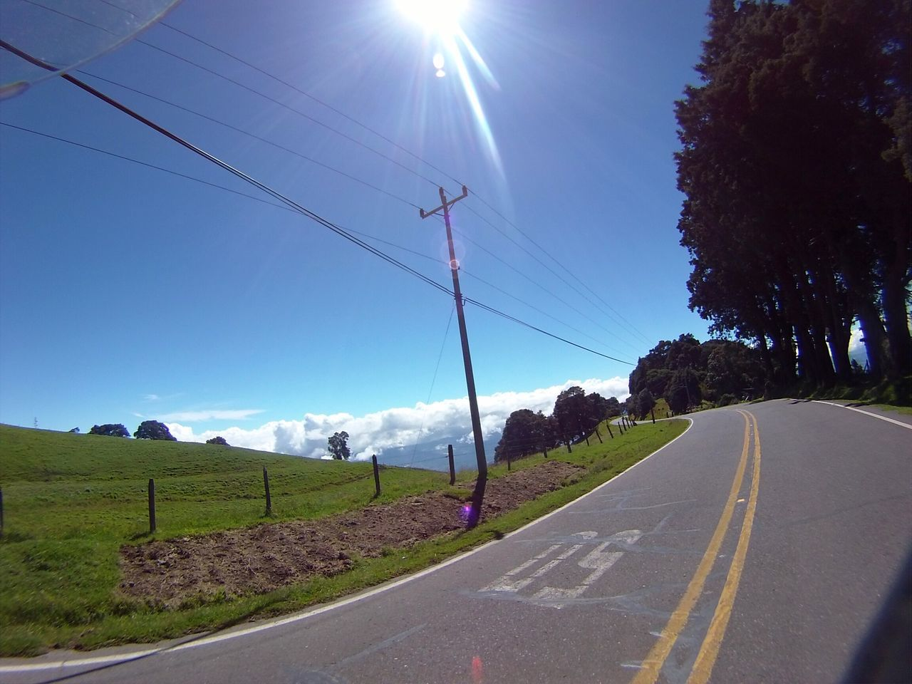 Road to heaven Road Sky Costa Rica Action Camera Landscape Motorcycle Diaries Biketour Rider Clouds My Year My View While Riding My Bike While Driving EyeEmNewHere