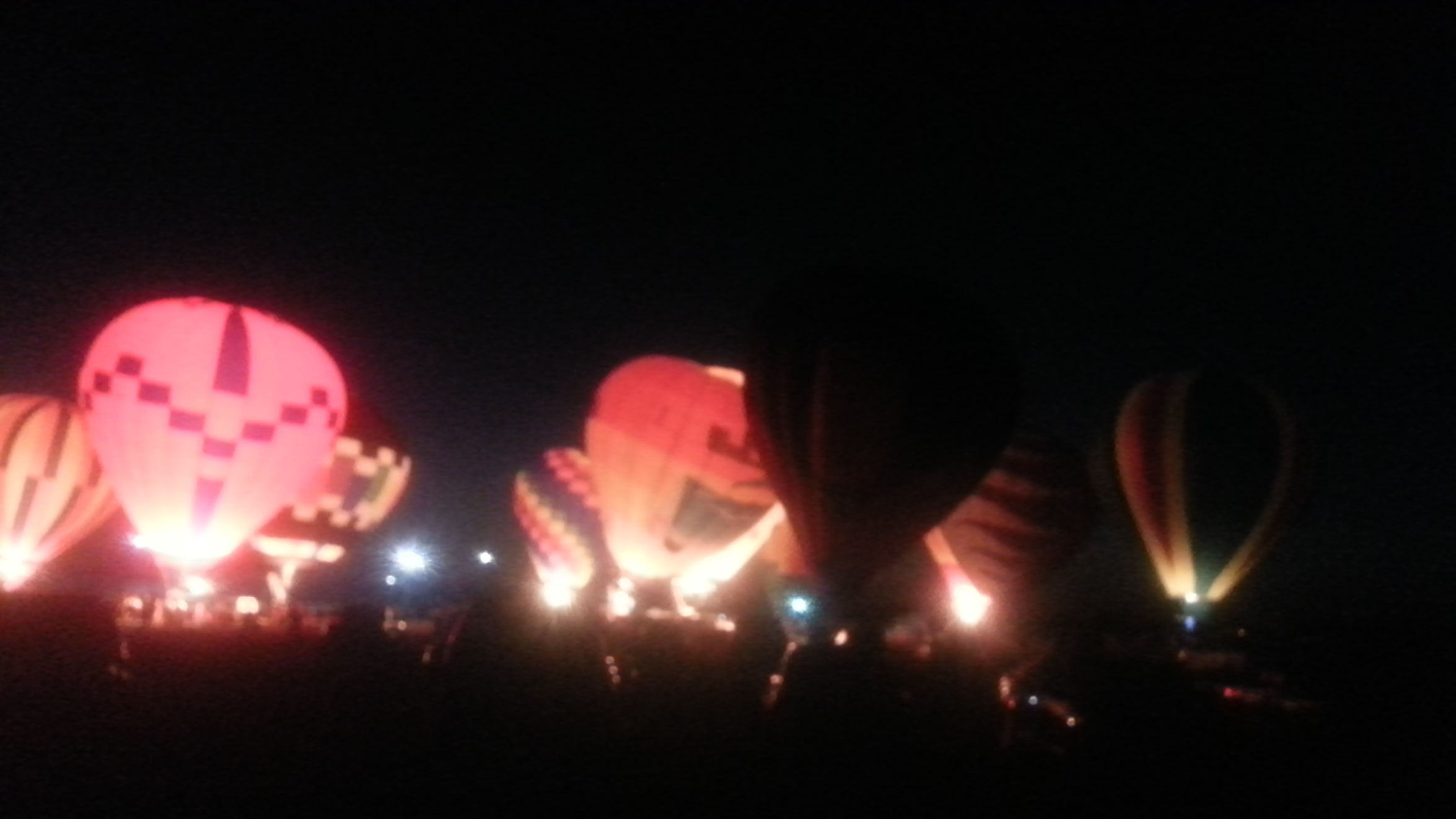 And 1 more Anna Balloon Glow Hot Air Balloons Available Light Taking Photos
