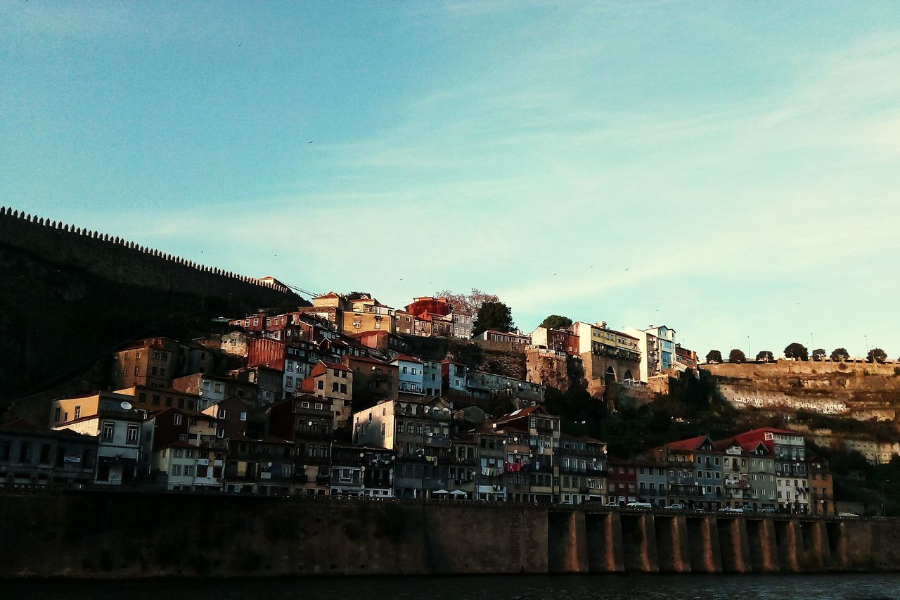 Douro Douro  Douroriver Porto Igers Igersportugal Sunset VSCO Vscocam Vscoportugal Igersporto Portugaldenorteasul Portugalcomefeitos Portugalovers Portugalemperspetiva Reflection Water Outdoors Sky People Large Group Of People Business Finance And Industry Nature Cityscape Day Adults Only First Eyeem Photo