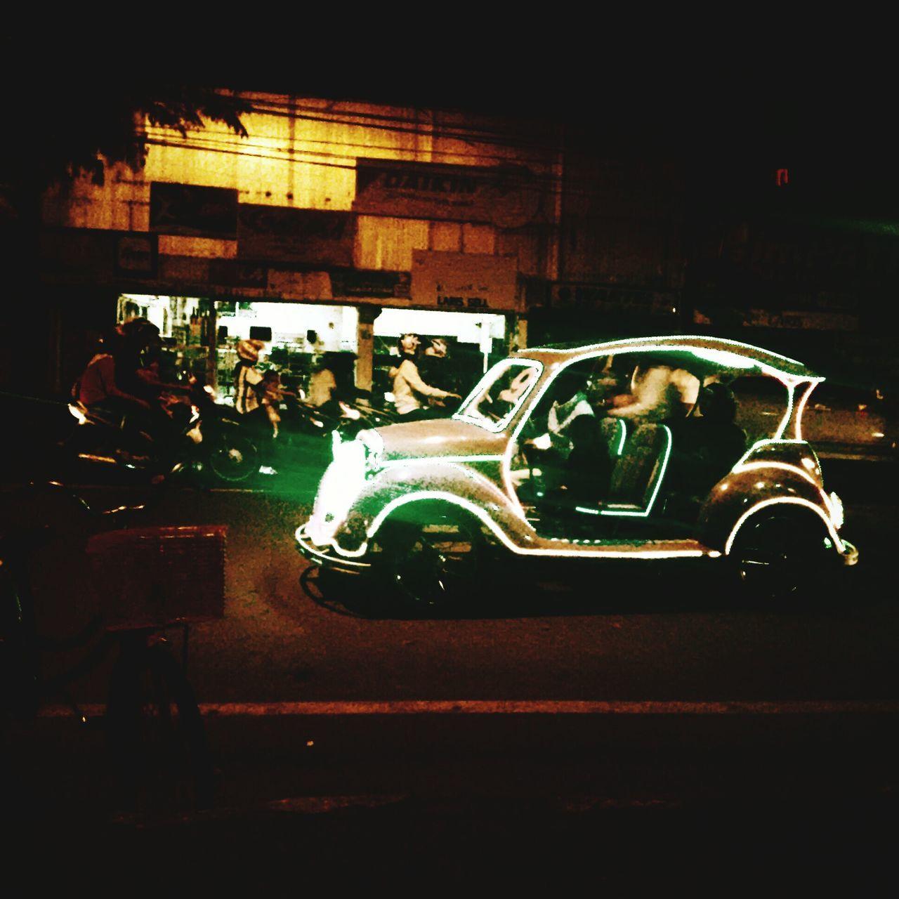 Night Photography LED Light Odong-odong