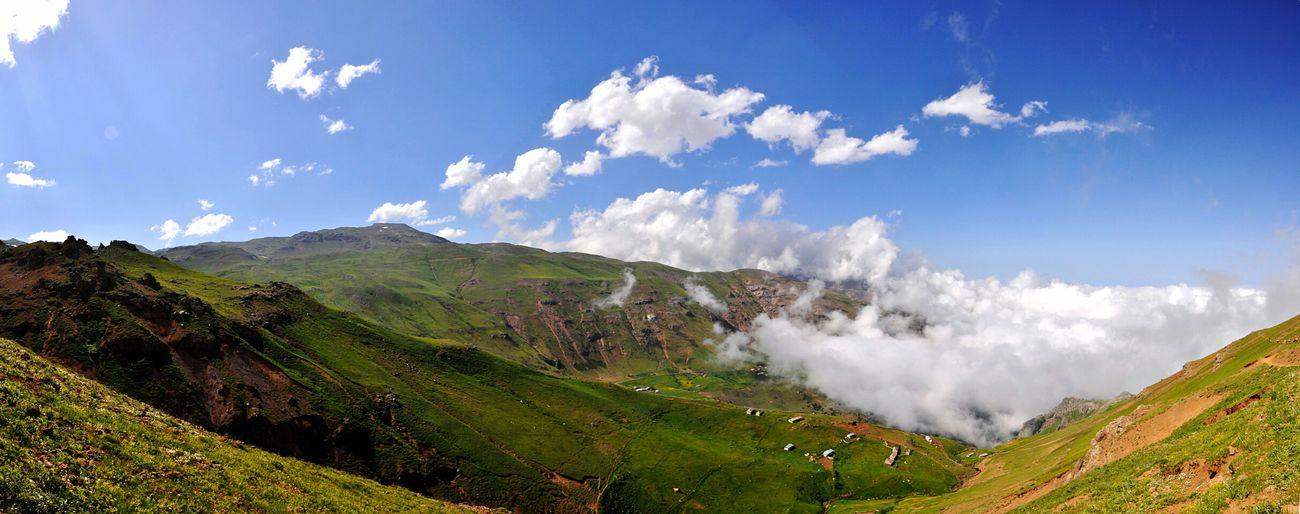 Iran Ardebil Soobatan Nature Clouds Mount Sky Nikon Nikond90 Panorama