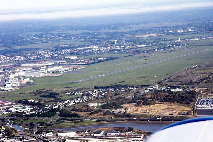 Airbus Loire Marais Aerial View Beluga Bridge Bridge - Man Made Structure Cordemais Saint Nazaire