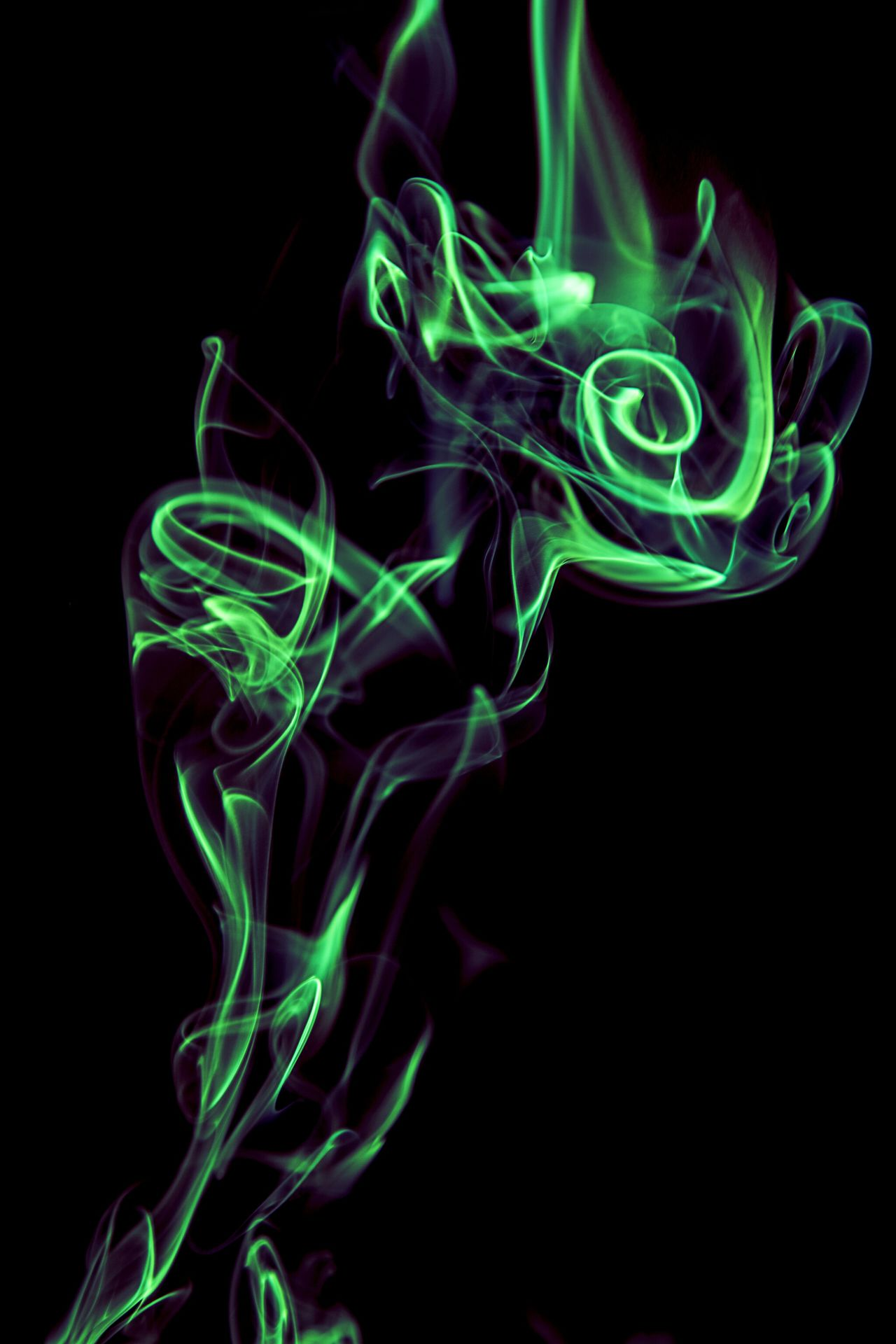 EyeEm Neon Smoke Green Green Color Textures Textured  Isolated Black Background Blue Shapes Isolated Smoke Colored Smoke Smoke Tricks Smoked Smoker Smoke Time