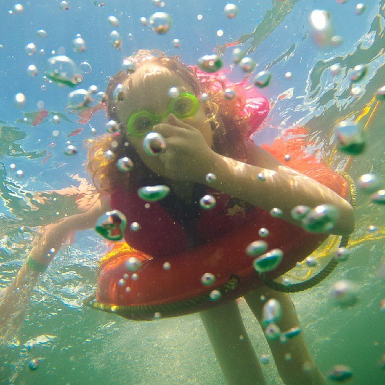 A WaterCreature amongst the Bubbles . Gopro Igersottawa . Back from an amazing weekend. - lots of photos to come.
