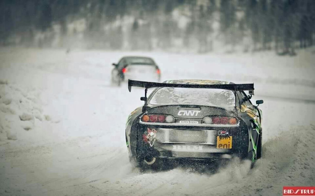 How I Play In The Snow! ;) Toyota Supra Jdm JDMST