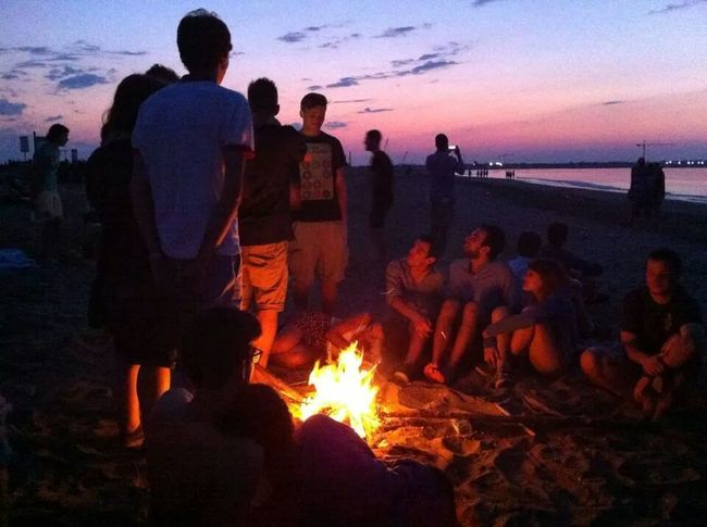 Last day into Iuav with a crazy summer party on the beach Venice By Night Friends Graduation